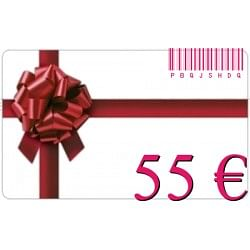 €55 for €50 - vO Gift Card