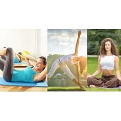 $/£/€19 Yoga & Bodyweight Training: Transform Your Body Bundle